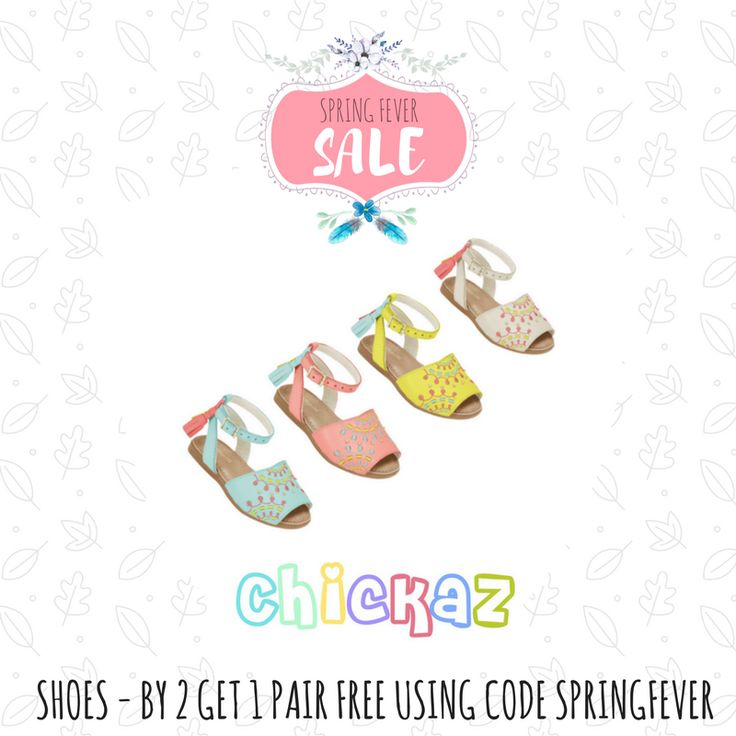 BRAZILIAN INSPIRED BABY & GIRLS FASHION Buy 2 pairs of shoes, get one free.  Valid until midnight Oct 1 Code: SPRINGFEVER
