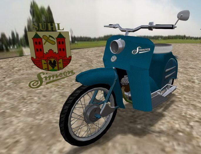 Motor Scooter Simson KR50