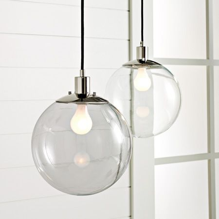 clear globe pendant glass lightingfor - Glass Pendant Lighting