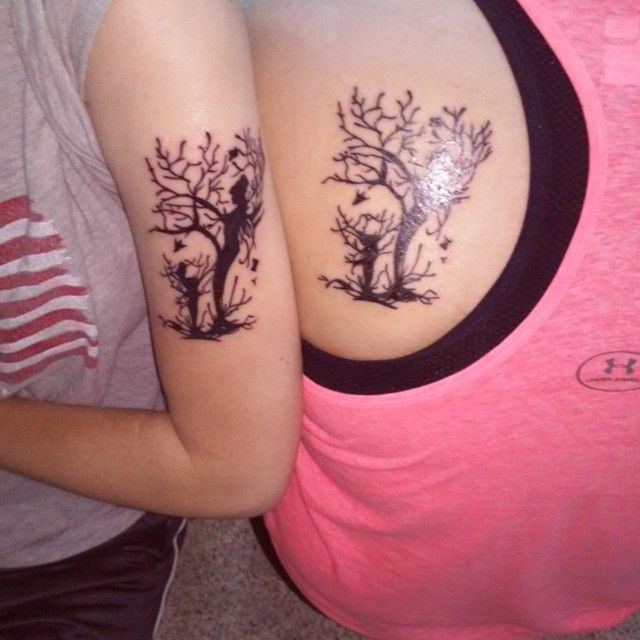 55 Awesome Mother Daughter Tattoo Design Ideas Ecstasycoffee: 1000+ Ideas About Mother Daughter Tattoos On Pinterest