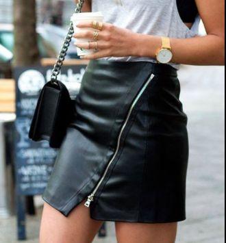 Skórzane spódnice: ołówkowe, rozkloszowane oraz asymetryczne znajdziesz tutaj www.allani.pl
