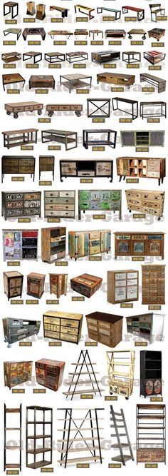 OLD-RIDER-GARAGE.com - MUEBLES VINTAGE