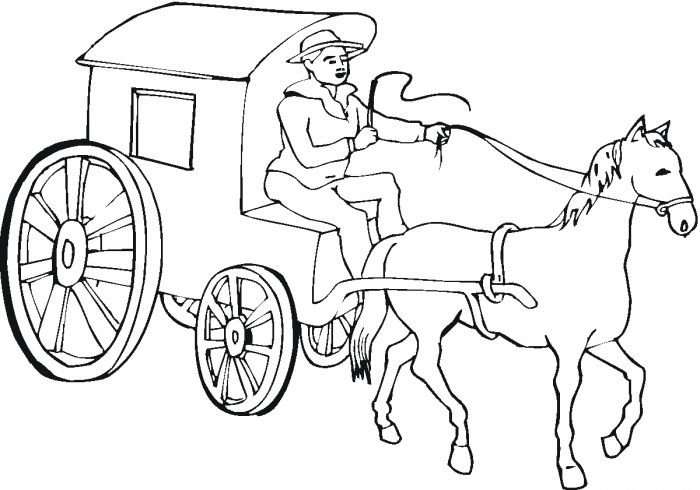 western coloring pages for kids - photo#30