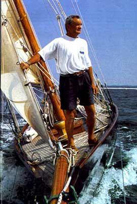 L'homme et son bateau. Eric Tabarly et Pen Duick Finistère Bretagne