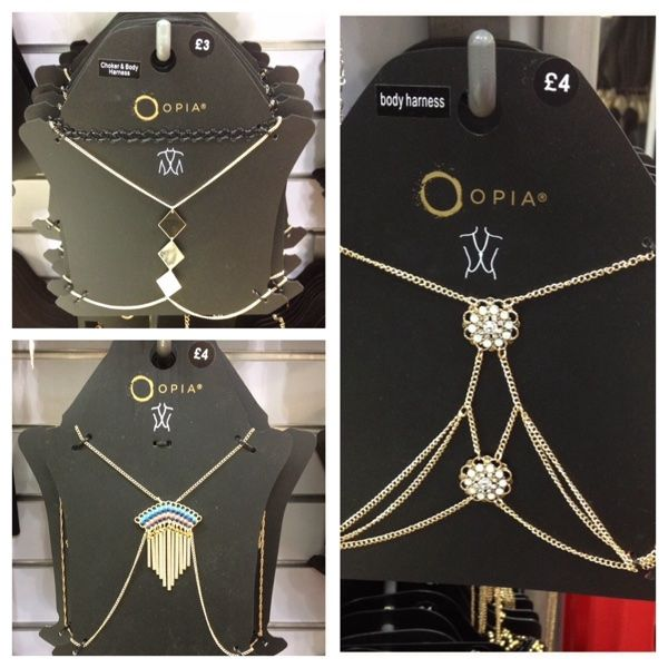 Primark SS15: Body Chains | Jewellery Archive