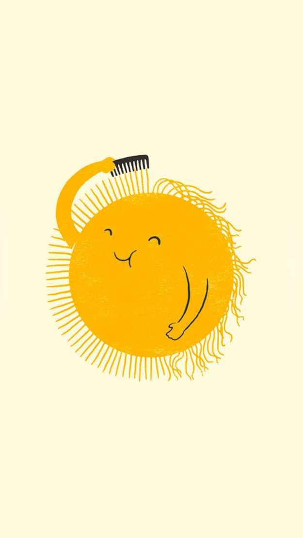 This little dude breaking out his *sun*day bests:
