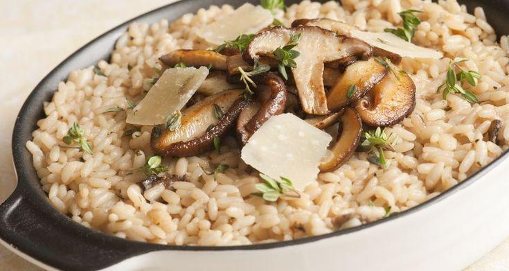 Ρυζότο με μανιτάρια
