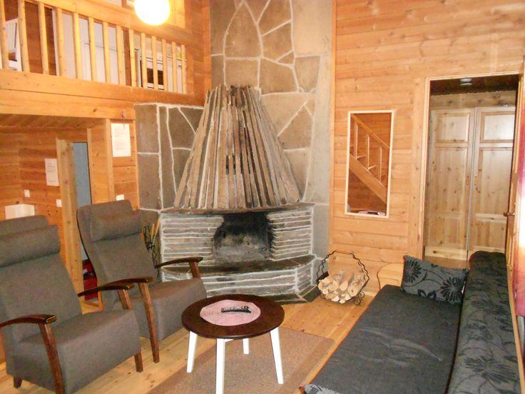 Rinnemökki 4-10, livingroom cabin 80m2 numbers 4-10