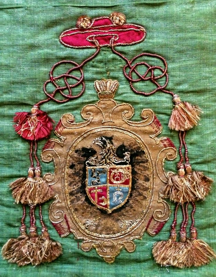 Detail of a chasuble of Cardinal George Radziwill (1556-1600) by Anonymous from Italy, 1591-1600, Muzeum Katedralne na Wawelu