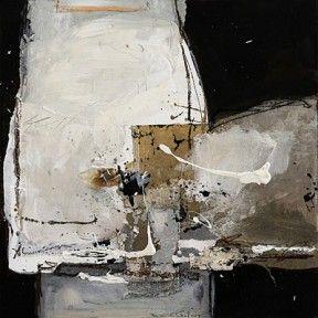 Van der Werf schildert met acrylverf op doek, paneel en papier. Vaak aangevuld met krijt, potlood, textiel, gaas, karton en zand. Hij werkt…