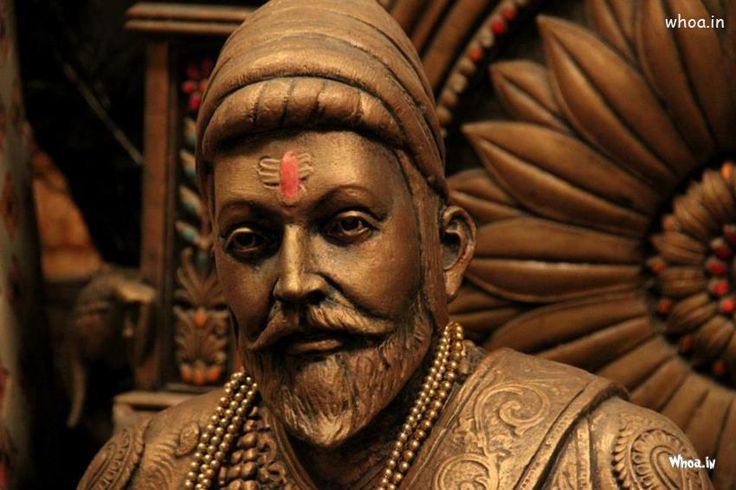 Chatrapati Shivaji Maharaj Statue With Face Closeup HD Wallpaper