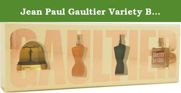 Jean Paul Gaultier Variety By Jean Paul Gaultier For Men and Women. Set-4 Piece Mini Variety With Jean Paul Gaultier For Men Classic & Jean Paul Gaultier Eau De Toilette & Fragile & Gauliter 2 Eau De Parfum And All Are Minis. Launched by the design house of Jean Paul Gaultier.