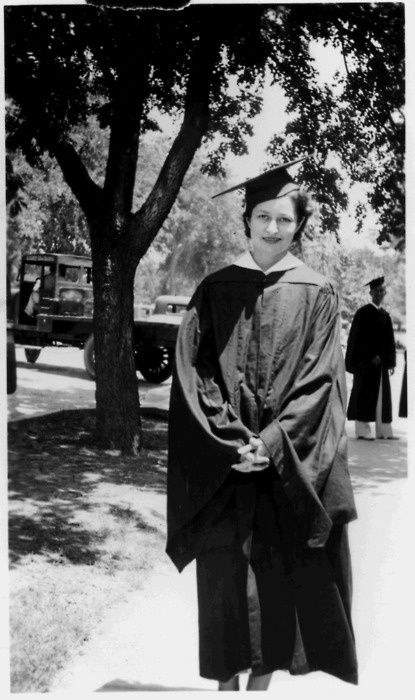 1934: Claudia (Lady Bird) Taylor graduates from UT-Austin. She had already earned a Bachelor of Arts in History in 1933, and she received a degree in Journalism the following year