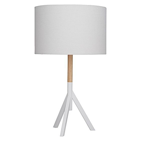 Shape your space with the smart form and Scandinavian tones of the classic Scout Table Lamp, White from Amalfi.
