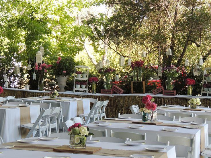 Matrimonio campestre al aire libre, flores, flowers