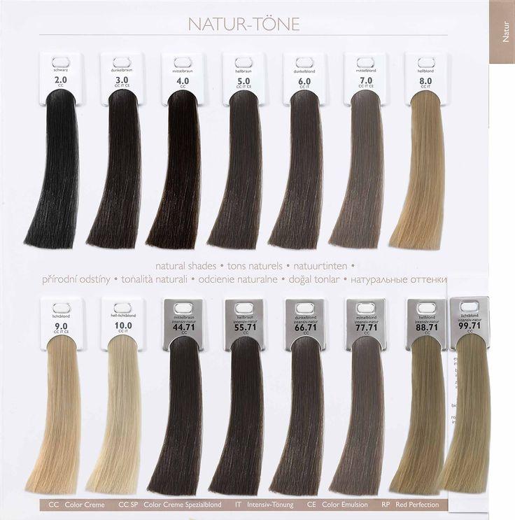 Alcina Hair Coloring Nature Tones.