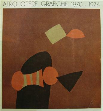 AFRO BASALDELLA 'LUNARIO' 1974