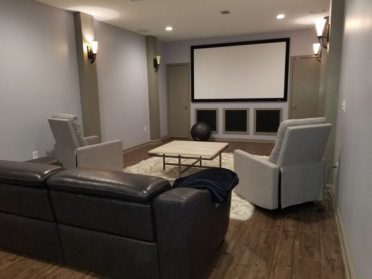 Best 25+ Basement Movie Room Ideas On Pinterest