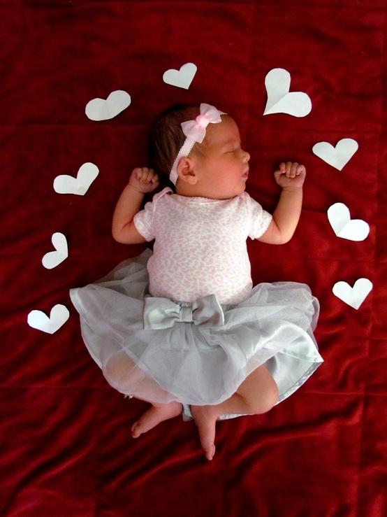 Hearts all around #baby #Valentine's