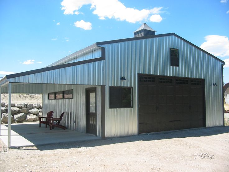 Summit steel building kit by versatube garage for Garage and shop buildings