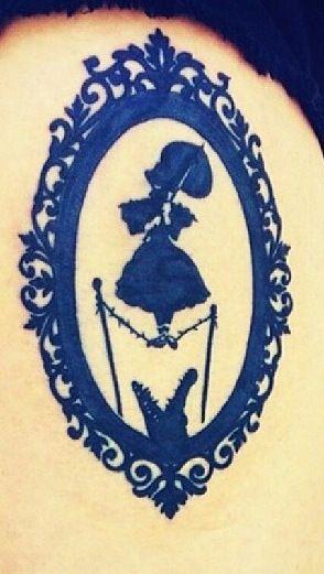 Disneyland Haunted Mansion tattoo