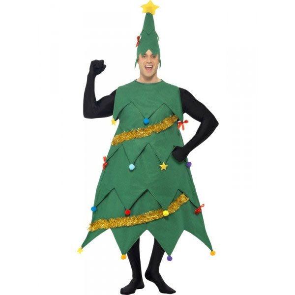 disfraz de rbol navideo deluxe para hombre