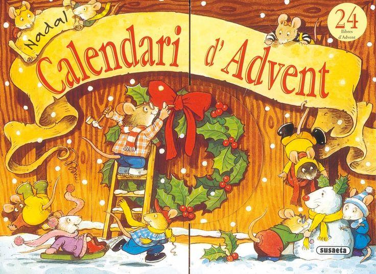 2 de desembre:  Amb 24 mini-llibrets, aquest «Calendari d'Advent» en forma d'auca, aproparà el Nadal als menuts a través de les coses que fa la família de ratolins protagonista. «Calendari d'Advent» de Gillian Chapman i Peter Stevenson. Susaeta