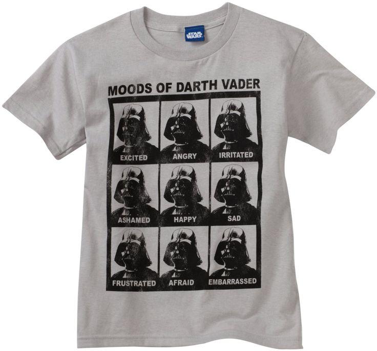 Moods of Darth Vader Shirt