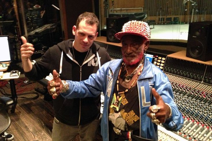 Lee Perry in the Studio with Z-Trip