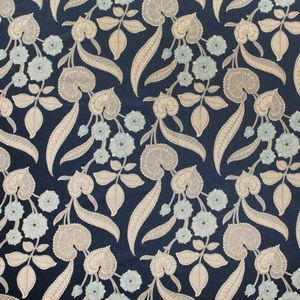 Hertex Collection: Floral Fantasy Design: Nouveau Navy