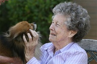"""""""Animals re-engage people with life,"""" says Loren Shook, who decades ago saw the positive effect of animals on the patients at the psychiatric hospitals where his family worked. Now, as CEO of Silverado (senior living homes), he has instituted a must-have-animals policy at all 17 facilities. """"Having animals in our facilities reduces depression and anxiety and reduces the need for psychotropic drugs by 35%.""""  www.usatoday.com/..."""
