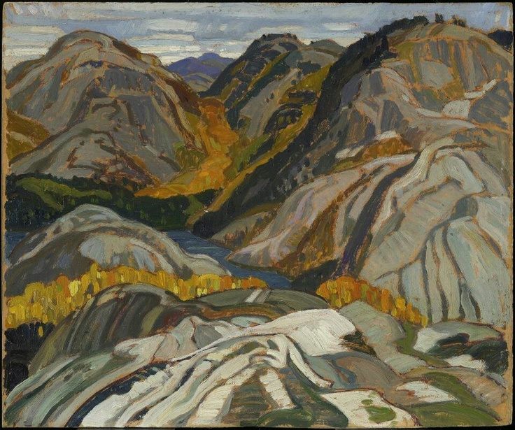 Franklin Carmichael at the Art Gallery of Ontario