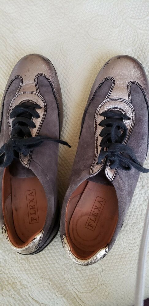 pellet practitioner Sagging  Fratelli rossetti Flexa womens silver/grey lace ups 8.5 US 38.5 EUR  #fashion #clothing #shoes #… | Hiking shoes women, Suede platform pumps,  Women's lace up oxfords