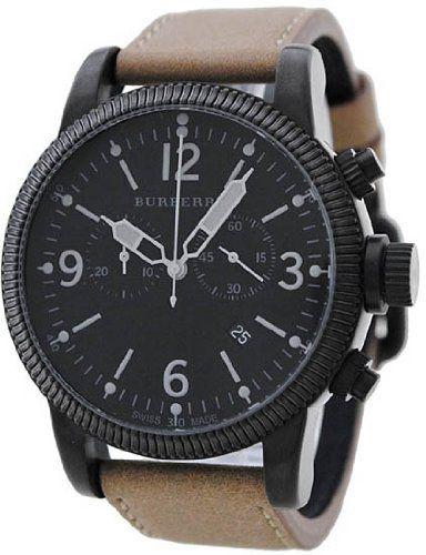Burberry Endurance Chronograph Black Dial Tan Leather Strap Mens Watch BU7809 by Burberry, http://www.amazon.ca/dp/B005JRHYA8/ref=cm_sw_r_pi_dp_Fmg5rb0PQXC90