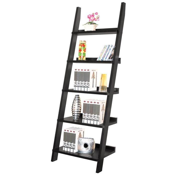 Ladder Shelf in Black | Nebraska Furniture Mart