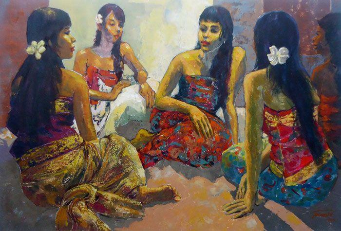 Pranoto - Perempuan Bali & Frangipani