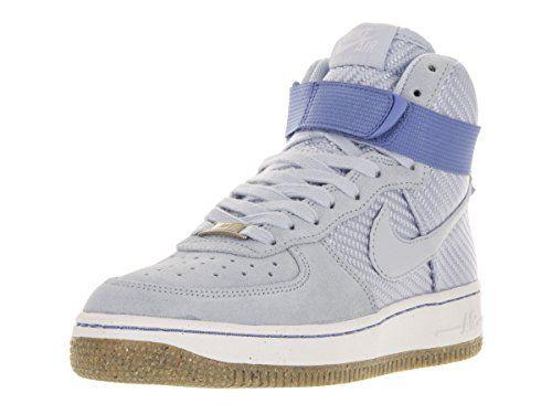 Nike Women\u0027s Air Force 1 Hi Prm Porpoise/Porpoise Basketball Shoes
