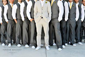Groomsmen- I like this, but want it with faces
