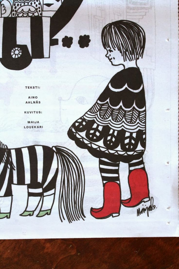 Illustration by Maija Louekari <3 Marimekko