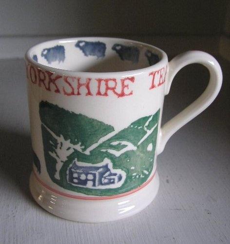 Early Emma Bridgewater 'Yorkshire Tea' mug