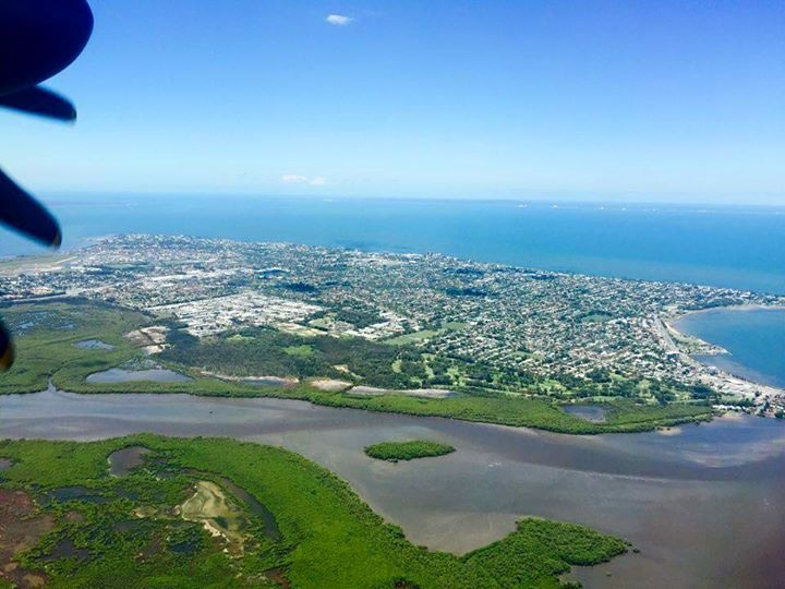 Stunning views of Redcliffe from the air. Thanks to Carolyn Dobson for the image. - http://ift.tt/1HQJd81