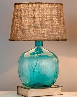 Salt Marsh Cottage: Coastal Lamp DIY