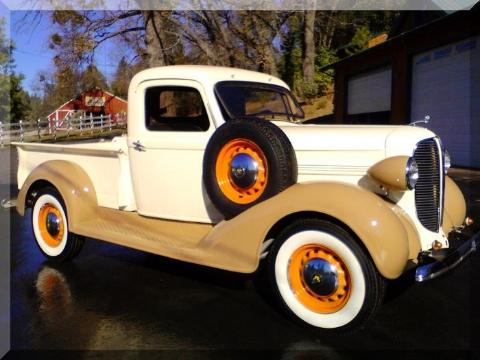 1938 Dodge Stepside Pickup...Re-pin Brought to you by agents at #HouseofInsurance in #EugeneOregon for #LowCostInsurance.