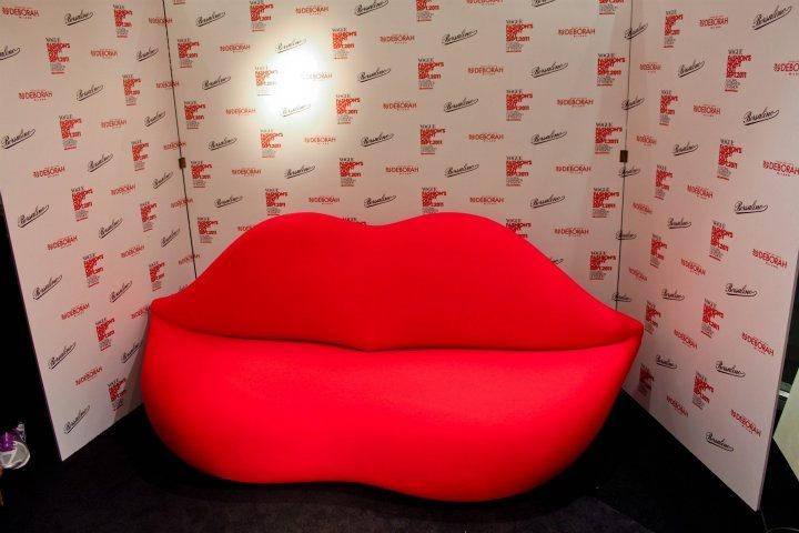 The famous lip sofa