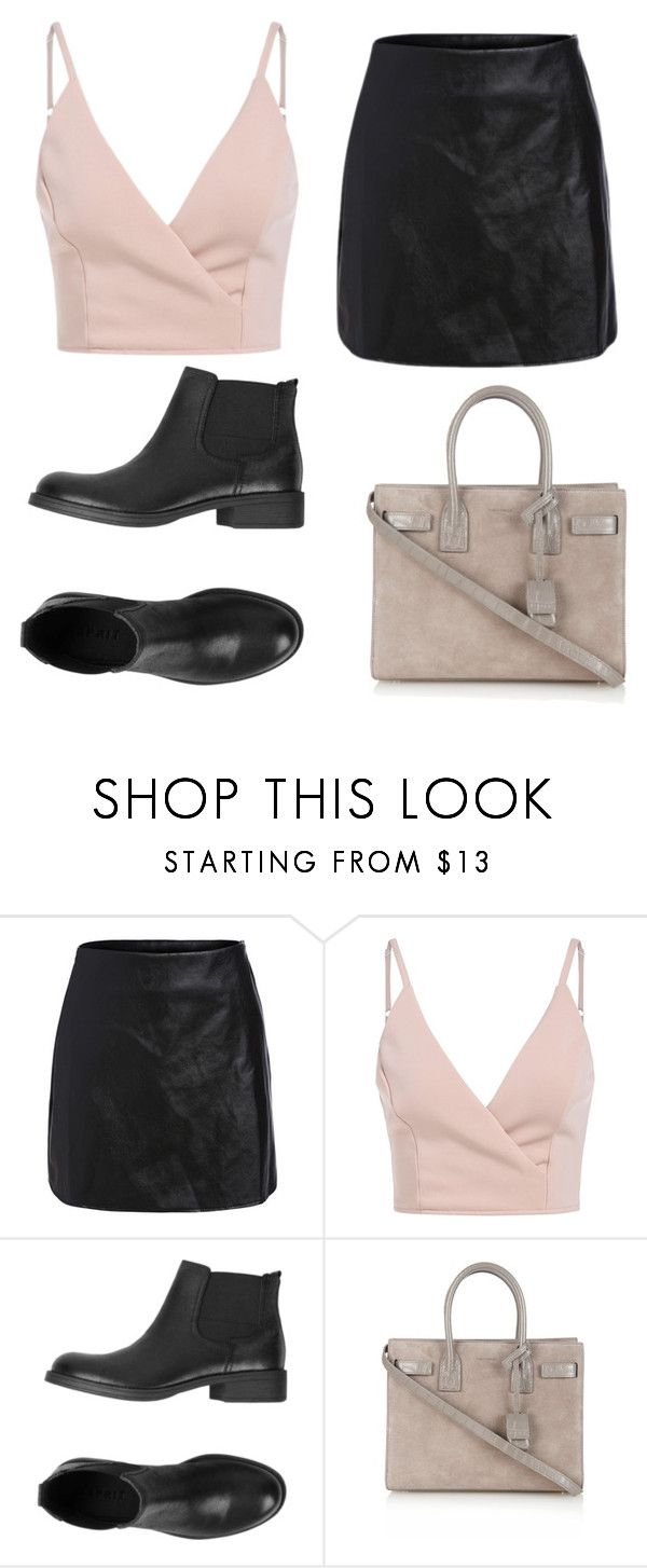 """february 19"" by tropikall ❤ liked on Polyvore featuring ESPRIT and Yves Saint Laurent"