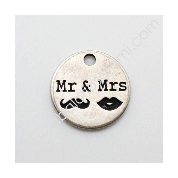 Chapa zamak Mr. and Mrs.
