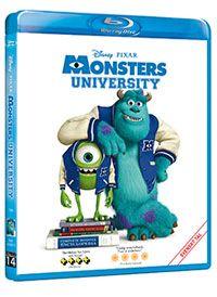 Recension av Monsters University. Animerad film av Dan Scanlon med Billy Crystal, John Goodman, Peter Sohn, Helen Mirren och Steve Buscemi.