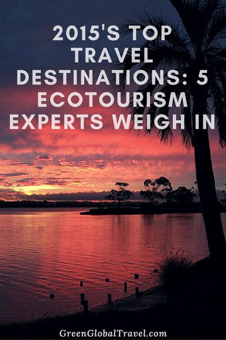 Read about 15 sustainable travel destinations that experts rate as the top destinations! Including Barbados, Costa Rica, Iceland, Mexico, and many more. Ecotourism destinations   Ecotourism travel   Travel inspiration - @greenglobaltrvl