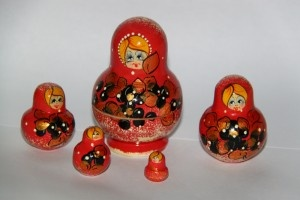 Matryoshka doll – the perfect souvenir from Russia (or a Russian country)
