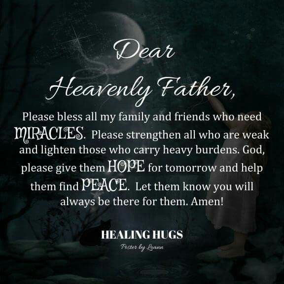 miracle prayer for healing